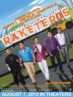 "Star Cinemas Ultimate Throwback Comedy Movie  ""RAKETEROS"""