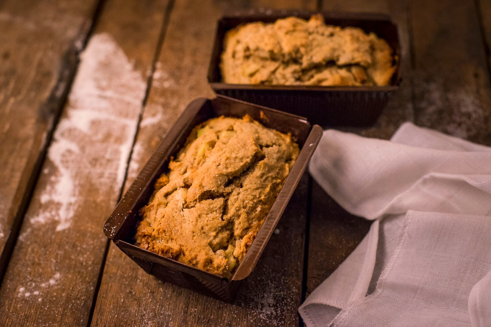 Spiced Apple & Pear Loaves