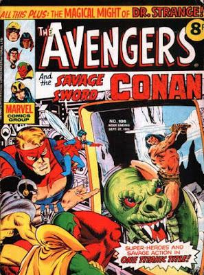 Marvel UK, Avengers #105