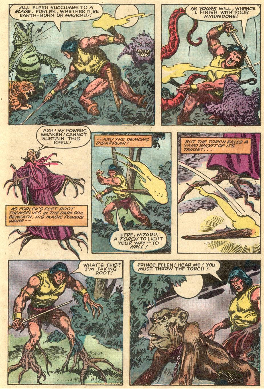 Conan the Barbarian (1970) Issue #148 #160 - English 22