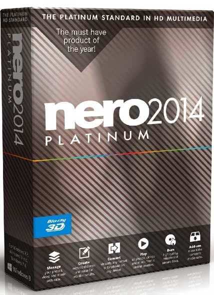 Nero 2014 Platinum v15 Final Full İndir