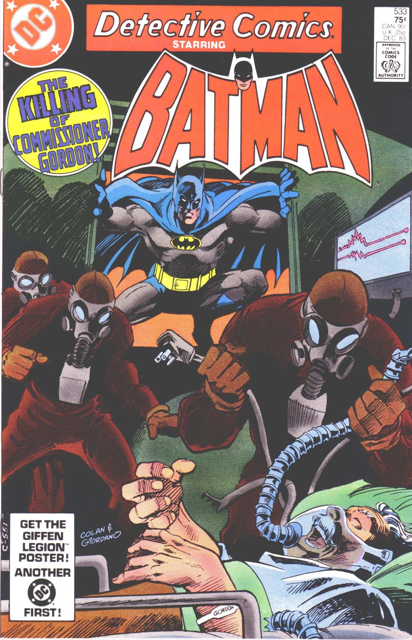 Detective Comics (1937) 533 Page 1