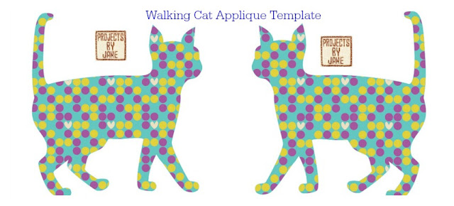 http://shopprojectsbyjane.blogspot.sg/2016/01/walking-cat-applique-template.html