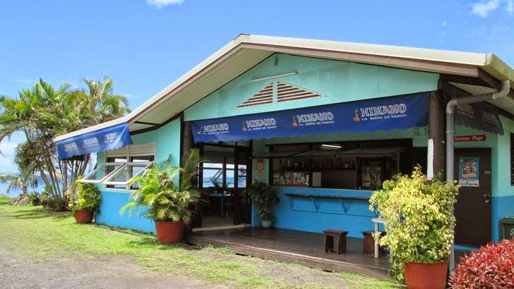 Restaurant snack à Tautira Tahiti