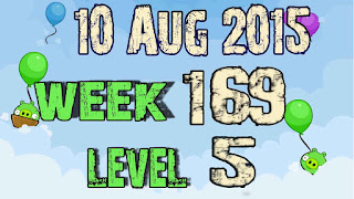 Angry Birds Friends Tournament level 5 Week 169