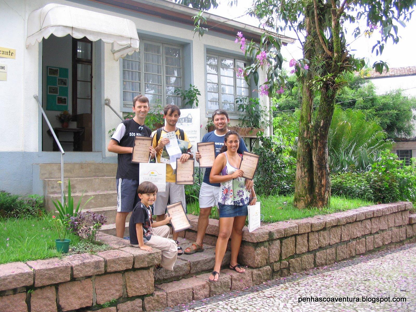 Circuito Vale Europeu : Maumau ecos aventura dia circuito vale europeu palmeiras a