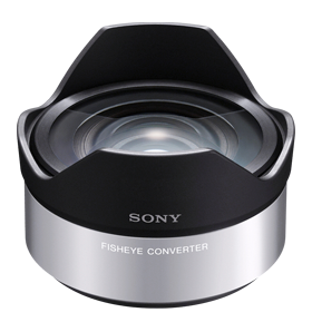 sony nex fisheye conversion lens vcl-ecf1