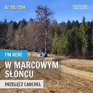Piechotą do przełęczy Carchel (03.2014)