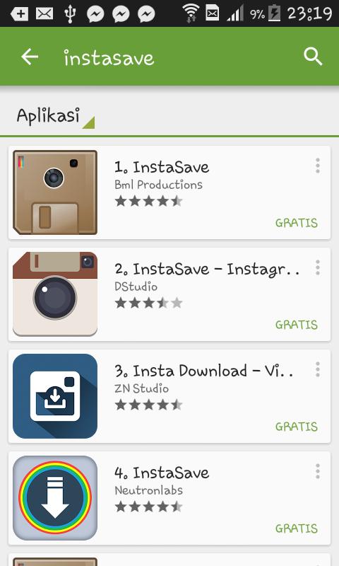 Cara Menyimpan Foto Instagram ke Android