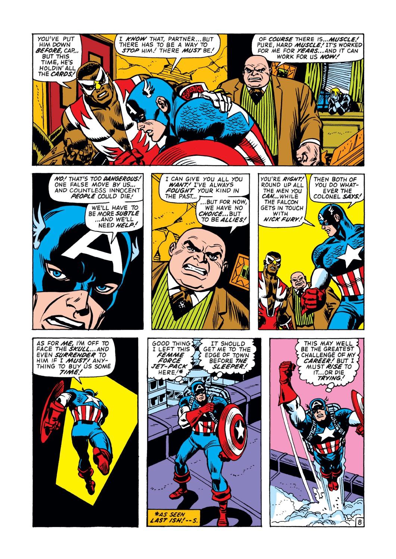 Captain America (1968) Issue #148 #62 - English 9