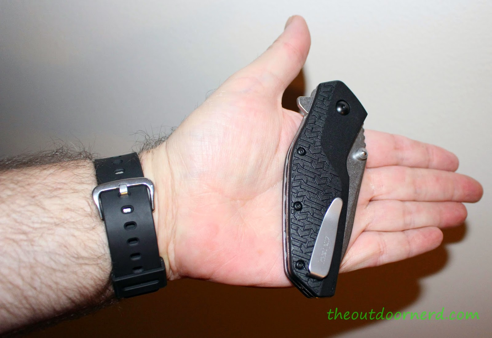 Kershaw Swerve EDC Pocket Knife:  In Hand 3