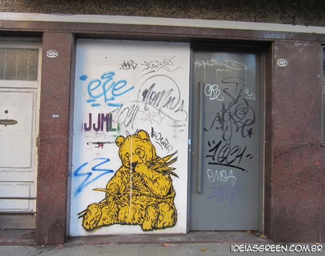 Street Art nas ruas de Buenos Aires