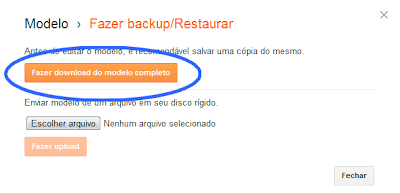 barra de compartilhamento que move blogger