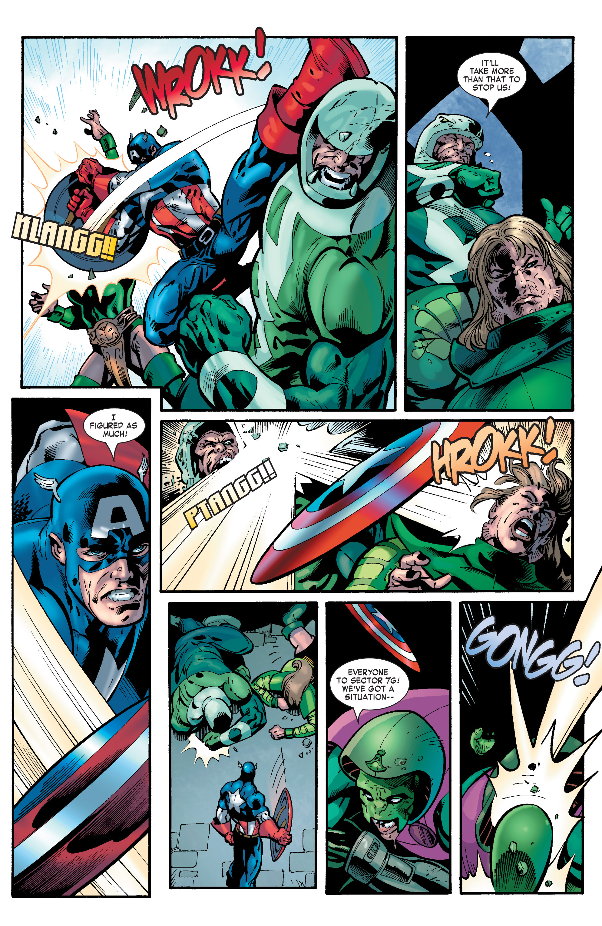 Captain America (2002) Issue #31 #32 - English 9