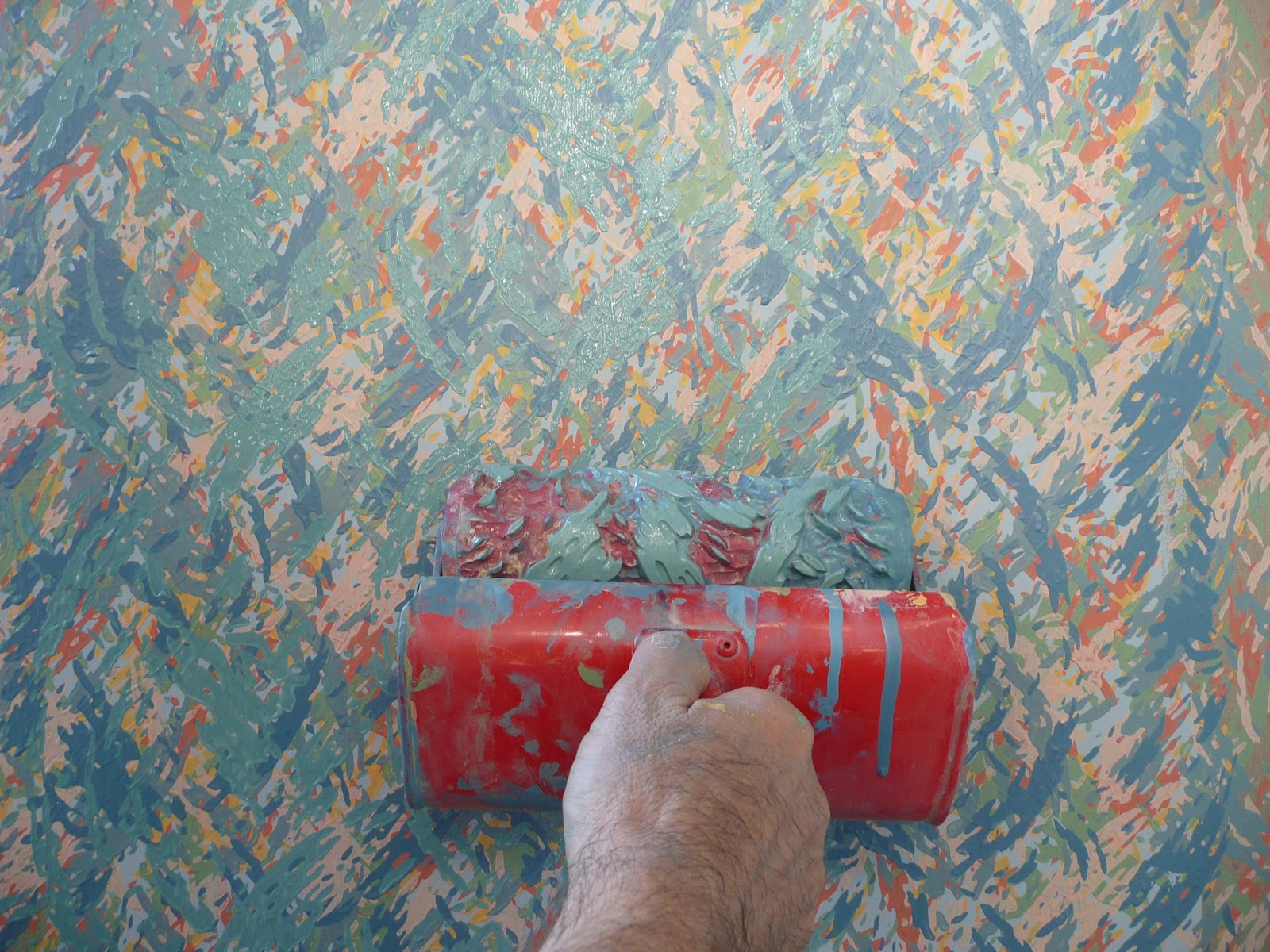 Decoroll a painting idea with decorative paint rollers for Interior design decorative paint effects