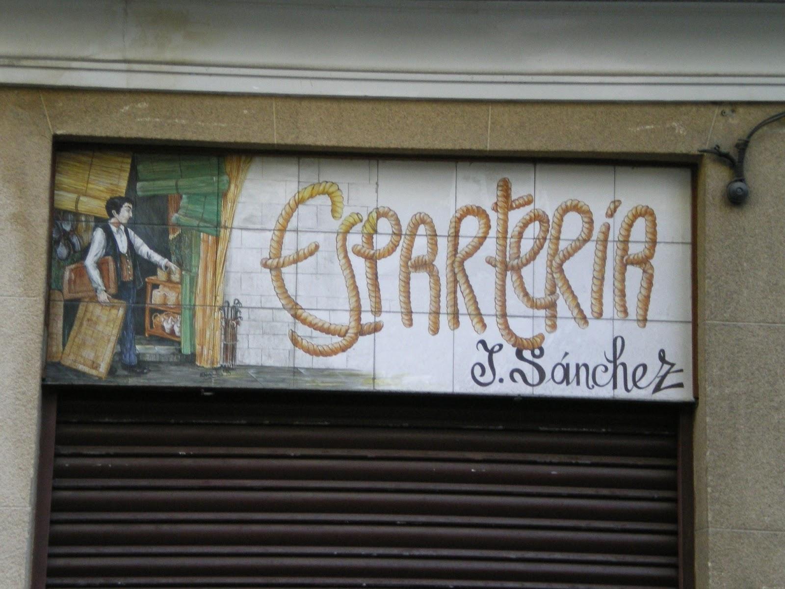 Palabrer a aprende espa ol callejeando por madrid - Esparteria juan sanchez ...