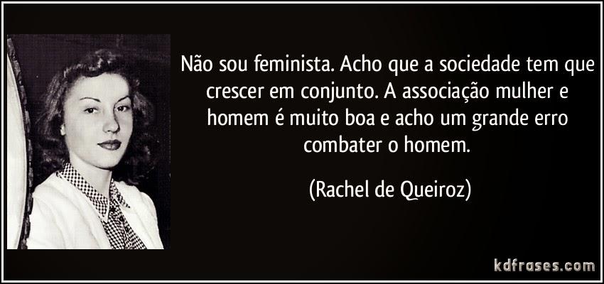 Frase Rachel Queiroz