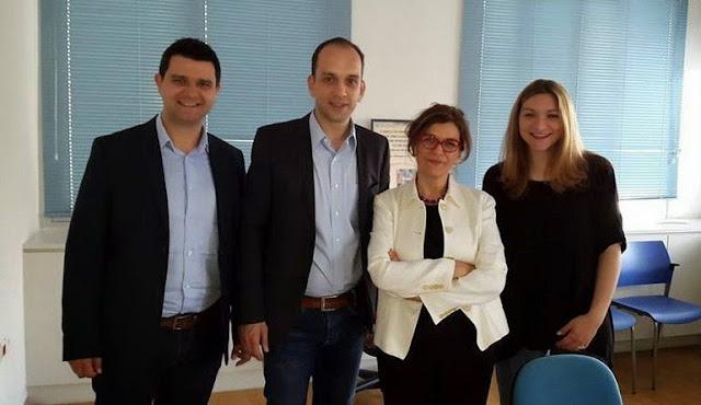 Συνάντηση Γκαρά με την αναπληρώτρια Υπουργό Εργασίας για την αντιμετώπιση της ανεργίας των νέων