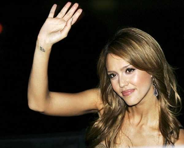 tattoo disasters favorite celebrity tattoo design jessica alba. Black Bedroom Furniture Sets. Home Design Ideas