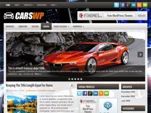 CarsWp - Free Wordpress Theme