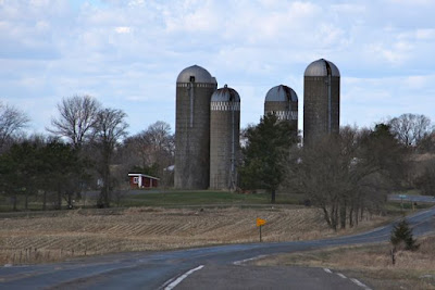 isolating silos on a farm