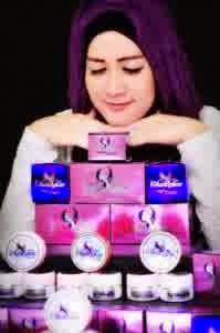 cream perawatan wajah alami dan sehat