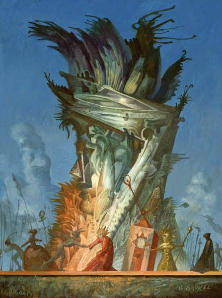 17-King-Lear-Stage-Setup-Gil-Bruvel-Insurgence-of-the-Mind-Surreal-Paintings-www-designstack-co