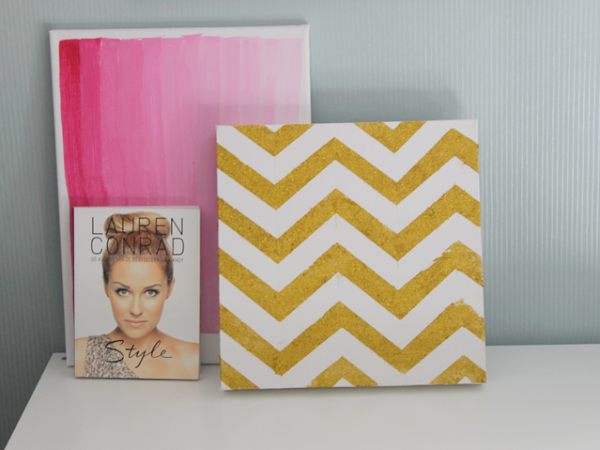DIY | Canvas doeken.