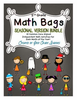 http://www.teacherspayteachers.com/Product/Math-Bags-for-2nd-Grade-Seasonal-Bundle-1186257