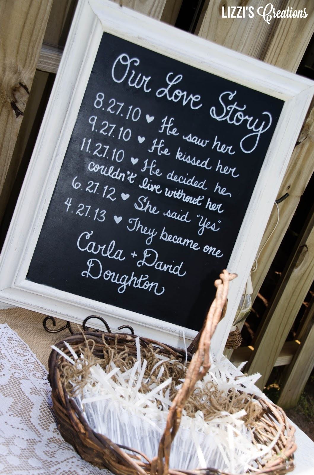 Lizzi\'s Creations: Project Wedding: The Decor