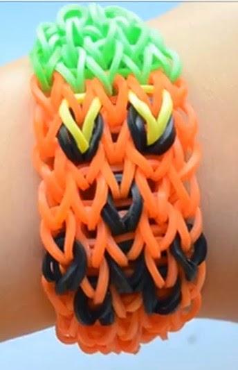 Cómo hacer una pulsera de calabaza para Halloween