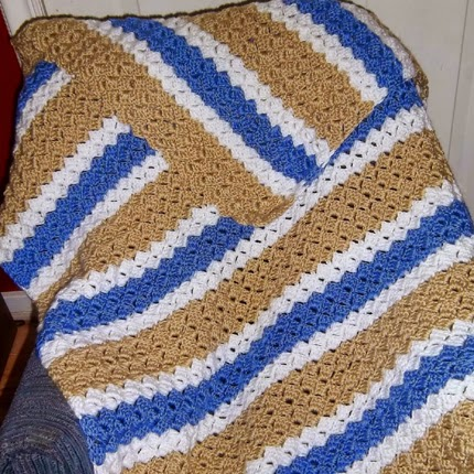 Brick Stitch Afghan Pattern