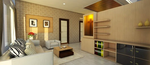belajar autocad jasa desain interior ruang tamu rumah tinggal