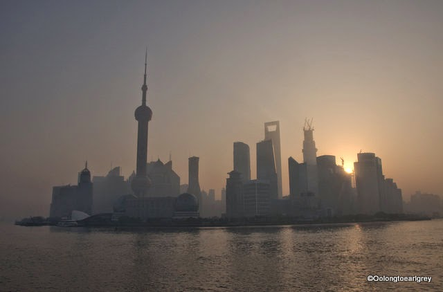 Shanghai Sunrise, November 2012