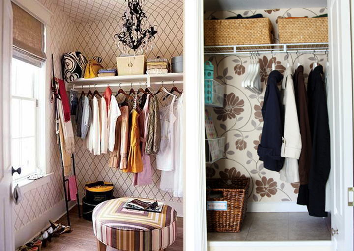 That Being Said, Iu0027ve Been Collecting Pictures Of Super Cute Wallpapered  Closets On Pinterest (where Else!) Here Are My Favu0027s: