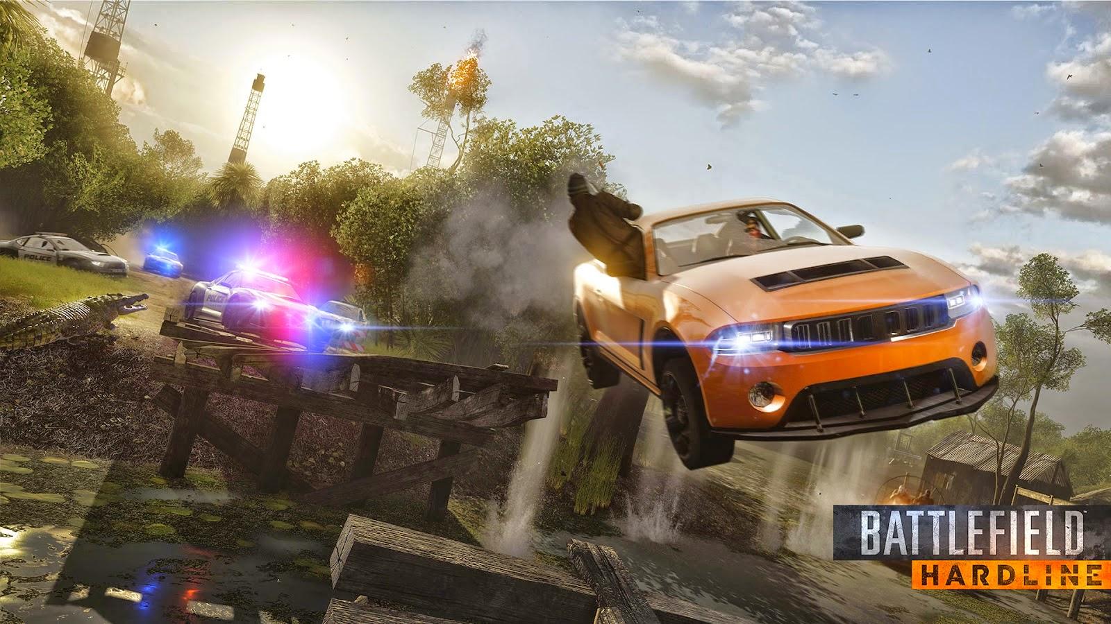 تحميل لعبة باتلفيد هارد لاين للكمبيوتر مجانا Battlefield Hardline 2015 pc