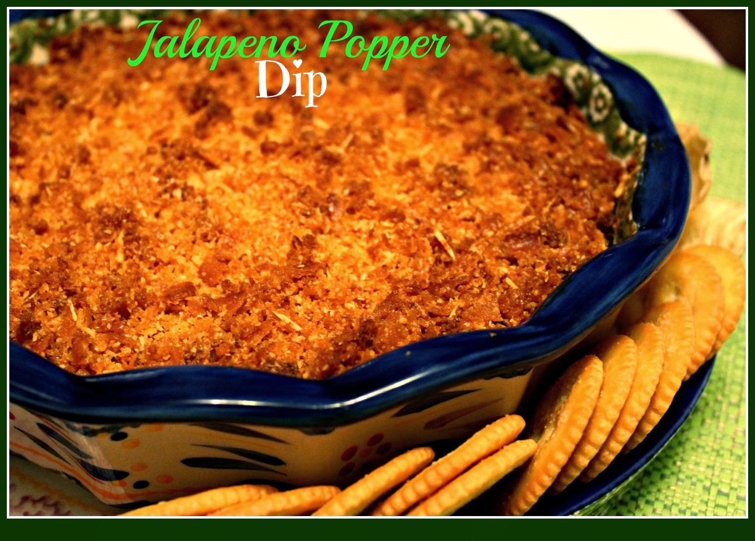 Sweet Tea and Cornbread: Jalapeno Popper Dip!