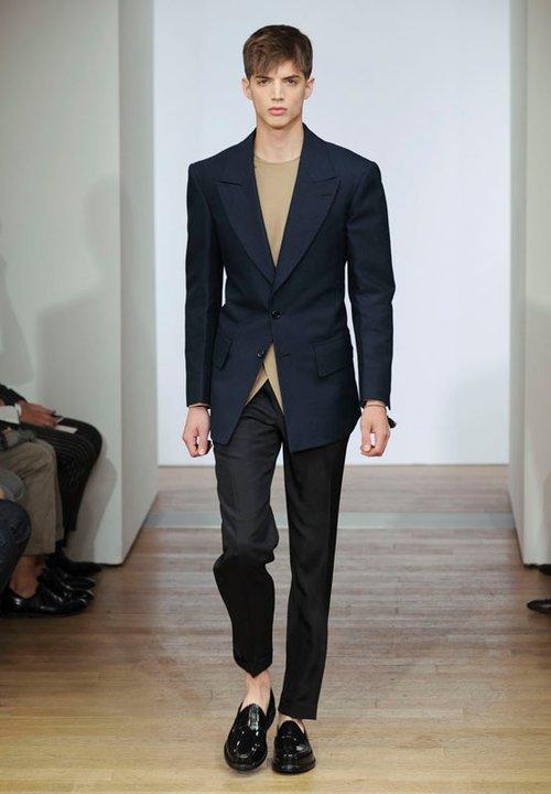 Pin Fashion Style Yves Saint Laurent Springsummer 2012 Men ...