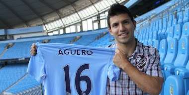 Sergio Kun Aguero official website