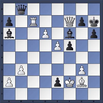 Echecs et Strategie : Les Blancs jouent et gagnent
