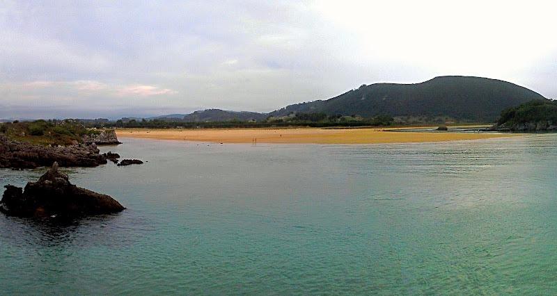 Playa de Joyel en Noja