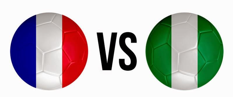 Francia 2 - 0 Nigeria. Francia tampoco necesitó los penaltis para clasificarse.