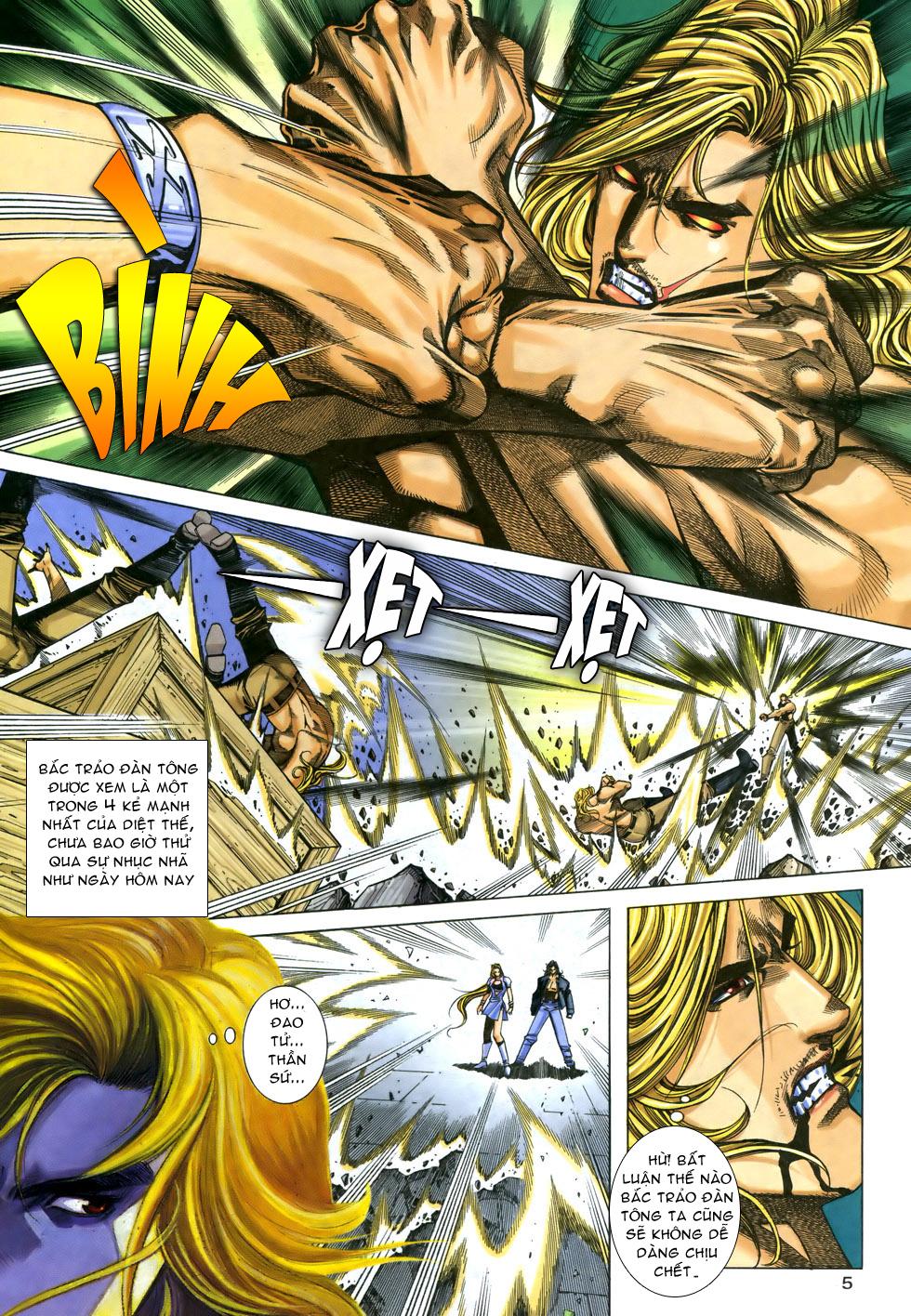 X Bạo Tộc chap 33 - Trang 5
