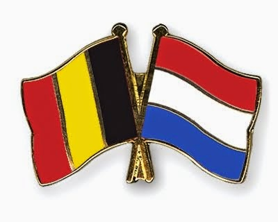 Flags: Belgium & The Netherlands