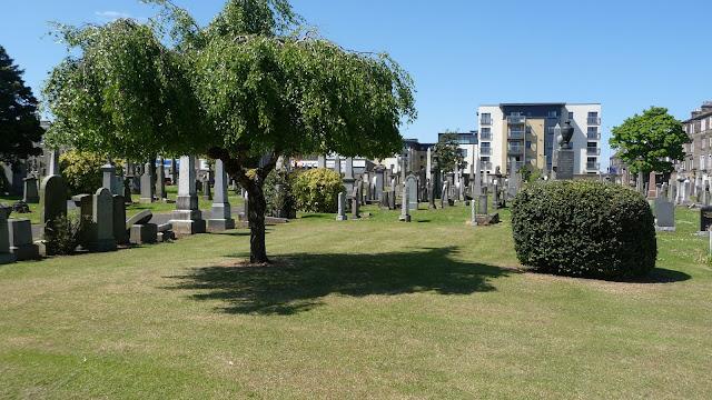 Rosebank Cemetery Leith