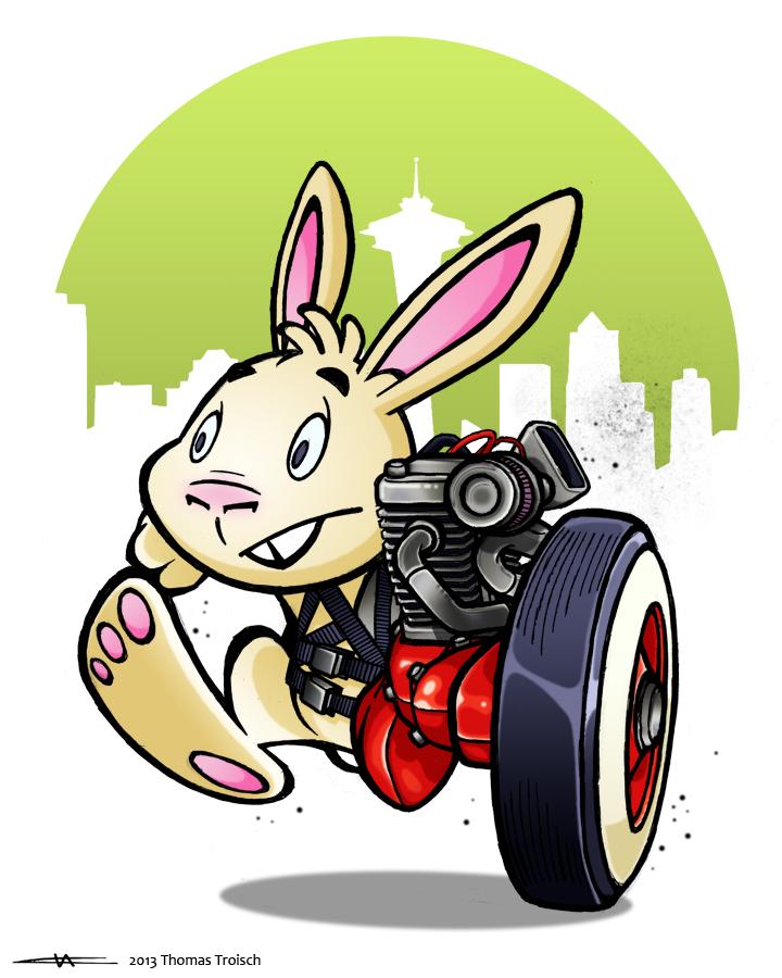 motor bunny