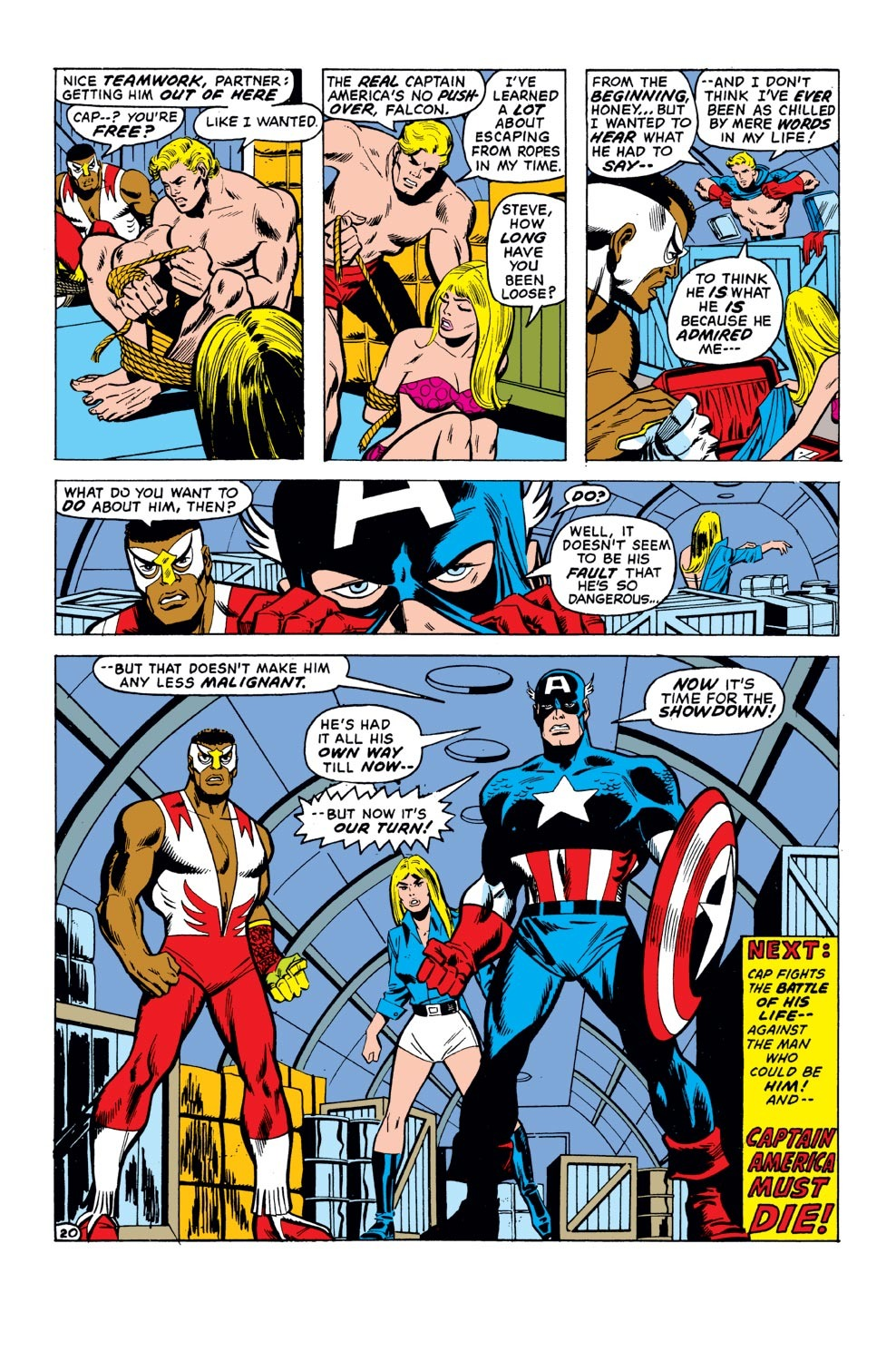 Captain America (1968) Issue #155 #69 - English 21