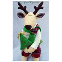 игрушки текстильные олени рукоделие каталог как найти блоги рукодельниц