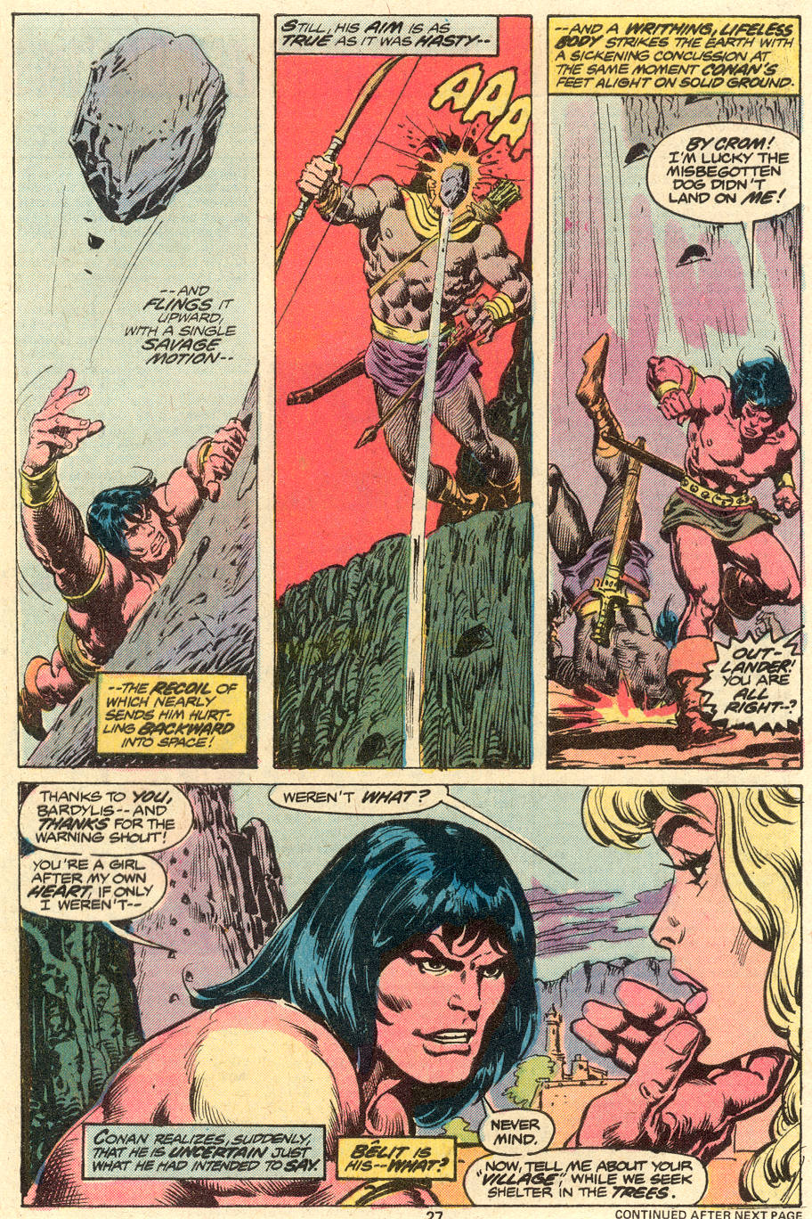 Conan the Barbarian (1970) Issue #79 #91 - English 16