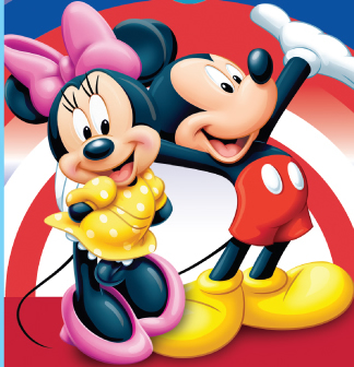 Mickey Mouse and Minnie Disney